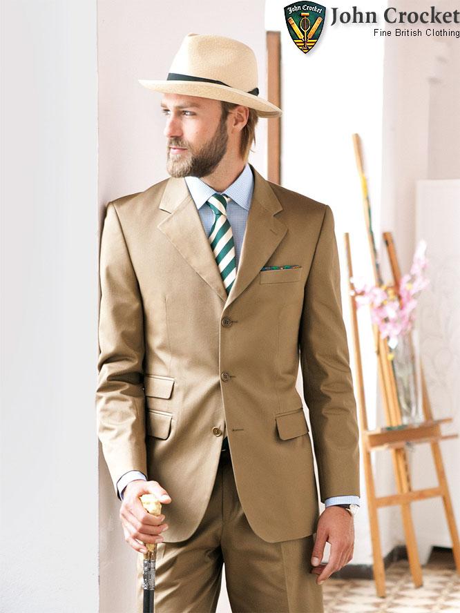 5c4f5131892747 John Crocket - Klassisch englische Business Mode Kollektion Frühling ...