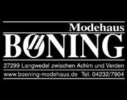Harbort & Böning Modehaus Modegeschäft