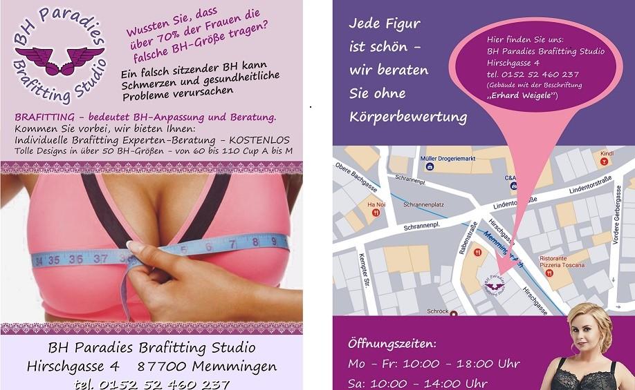 BH Paradies Brafitting Studio  - DeutscheMode.net