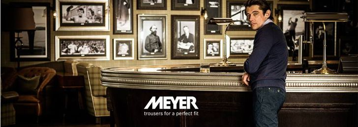 MEYER-Hosen Trousers Collection Men Fashion Spring/Summer 2014