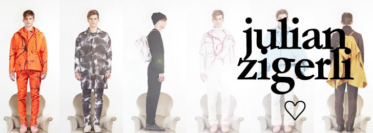 Julian Zigerli Collection Fashion Designers Spring/Summer 2016